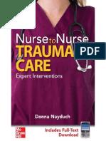 Nurse to Nurse, Trauma Care - Expert Interventions (Nayduch, 2009).pdf