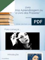 Seminário Literatura Clarice Lispector