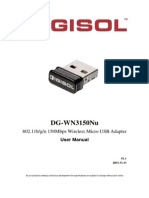 DG-WN3150Nu User Manual