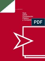 Guía sobre contratación pública y competencia.