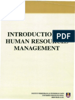 HRM533 -Introduction to Human Resource Management