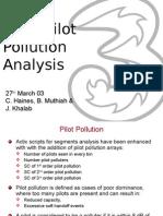 Actix Pilot Pollution Analysis