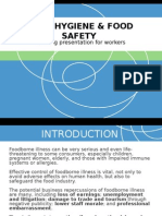 Basic Hygiene & Food Safety Training Module
