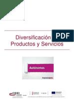Diversificación de Productos y Servicios