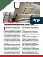 Storage project - Grain handling equipment upgrades at Strawson's Farms