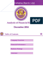 Analysis Dec 2014