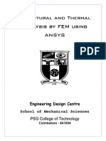 PSG college of Technology-structural analysis by FEM using ANSYS   (1).pdf