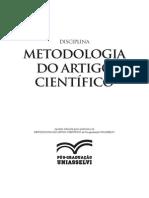 Apostila de Metodologia Do Artigo Cientifico