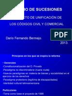 Derecho Sucesorio (Modificaciones del Proyecto de Unificación) Centro de Capacitación.ppt