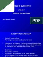 Derecho Sucesorio (Unidad IX).ppt