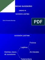 Derecho Sucesorio (Unidad VII).ppt
