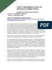 EVALUACION Y DESARROLLO DE LAS COMPETENCIAS DIRECTIVAS
