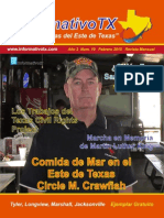 Informativo TX 22ava Edicion Febrero 2015