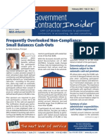 UHY Government Contractor Insider - February 2015