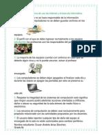 Norma de Uso de Internet y El Área de Informática