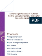 Enhancing Efficiency of Huffman Coding