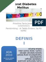 Referat Diabetes Melitus Prissilma