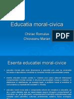 Educatia Moral-civica Pre Zen Tare)