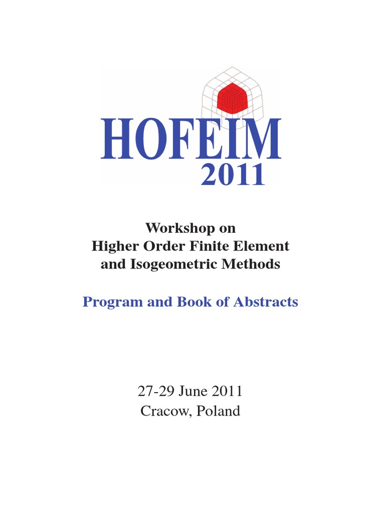 Hofeim Proceedings Finite Element Method Numerical Analysis Lowfrequency Doubler Circuit Diagram Tradeoficcom