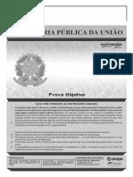 Caderno de Provas DPU