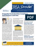 UHY ERISA Insider - February 2015