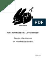 2014 Venta de Animales ISP
