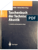 Mörser-Müller-Taschenbuch der Technischen Akustik