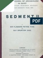 Petrie, F. and G. Brunton - Sedment II (1924)