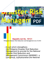 Disaster Risk Management