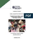 Cuaderno de trabajo curso Diagnóstico Participativo