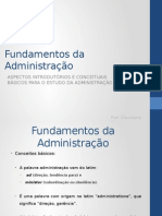 Fundamentos Da Administração 01