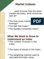 Stock Market Indexes 2010