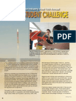 NRL and Aerospace Industry Host 10th Annual Cansat Student Challenge - Spectra 2014