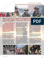New York City Tracks Firefighters to Scene with NRL Radio Tags and Automated Display - Spectra 2014