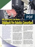 Shipboard Fire Robotics Consortium - Spectra 2014