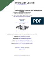 Drug Information Journal 2000 Biffignandi 801 8