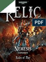 Relic Nemesis Rulebook