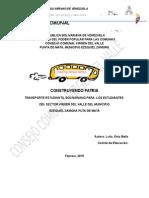 proyecto de transporte ccvv.docx