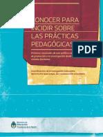 Primeros Resultados de Una Política Nacional de Promoción a La Investigación Desde El Sistema Formador.