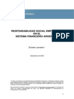 RESPONSABILIDAD SOCIAL EMPRESARIA EN EL SISTEMA FINANCIERO ARGENTINO