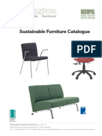 Sustainable Furniture Catalogue