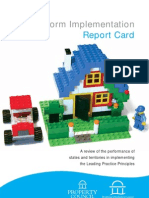DAF Reform Implementation Report Card