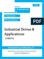 Eee-Vii-Industrial Drives and Applications-unit 1,2,3,4,5,6,7,8