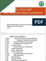2015 Nat Test Admin Guidelines