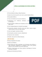 Caracterização Física e Psicológica de Carlos Da Maia e João Da Ega
