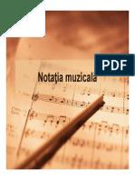 Notatia muzicala