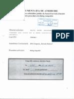 Documentația de atribuire pentru realizarea achizițiilor publice prin procedura de dialog competitiv