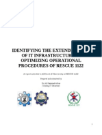 Rescue 1122 Report by Dr. Ali Hammad