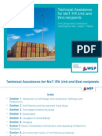 Technical Assistance on Port and Maritime Engineering.