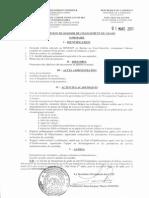 Composition du  Dossier de Changement de Grade